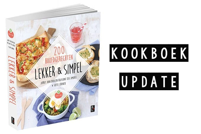 kookboek update