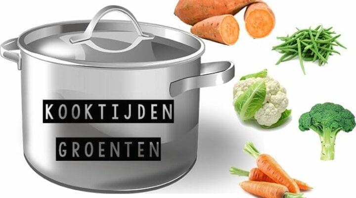 kooktijden groenten