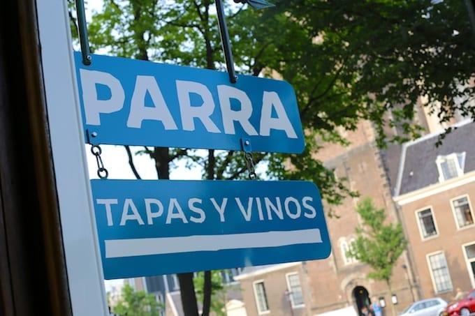 Hotspot: restaurant Parra, Amsterdam
