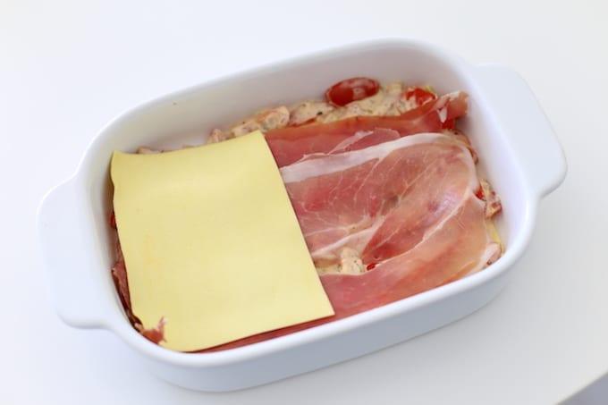lasagne caprese