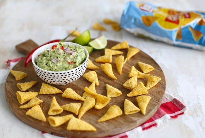 Bugles vultip: Mexicaanse avocado dip