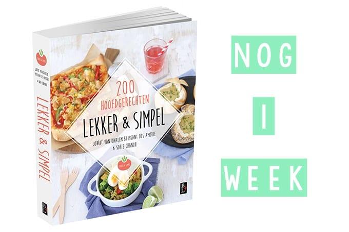 Heb jij ons kookboek al gereserveerd lekker en simpel for Kookboek lekker en simpel