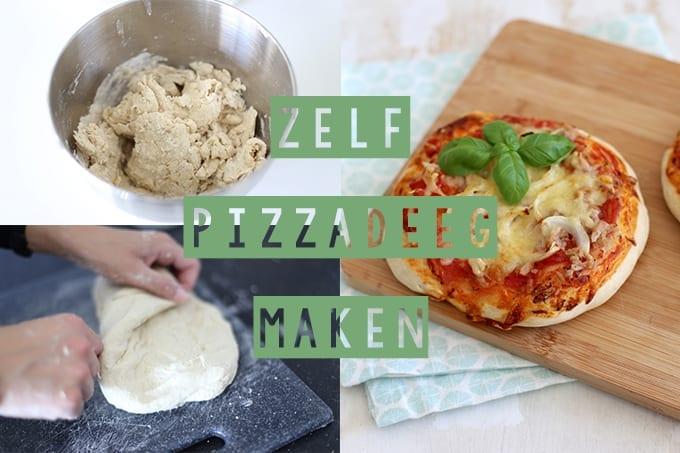 Zelf (spelt)pizzadeeg maken