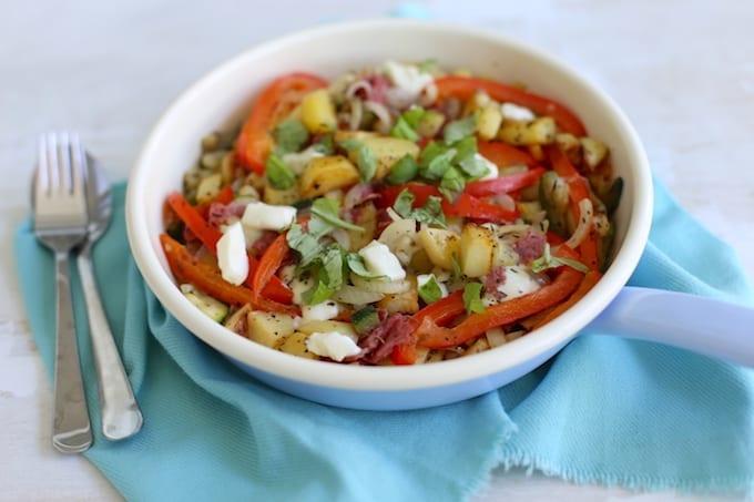 Italiaanse aardappelschotel (+video)