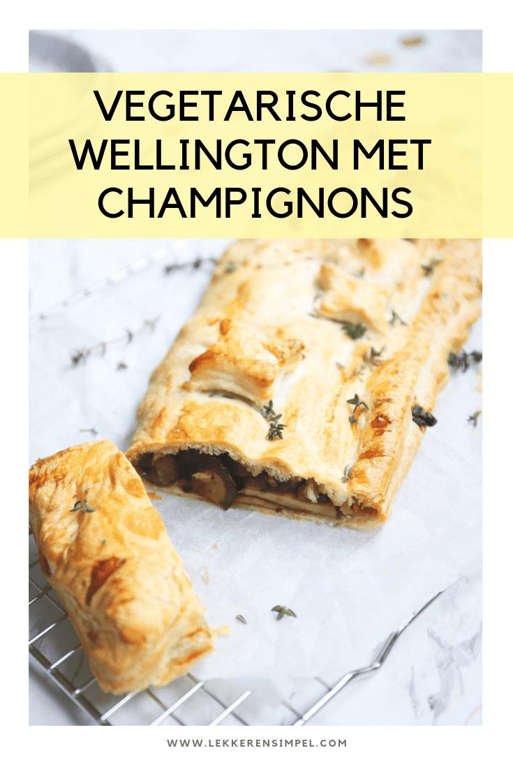 Vegetarische wellington met champignons