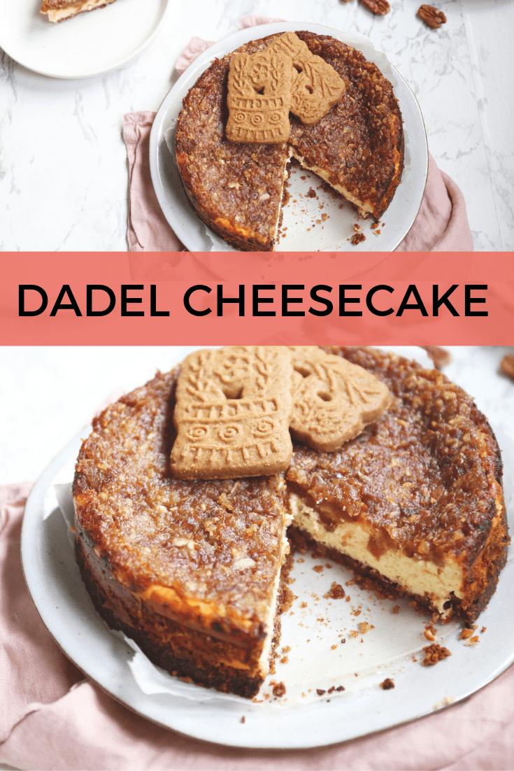 Speculaas en dadel cheesecake