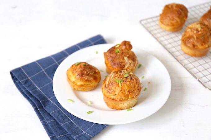 Ham-kaasmuffins