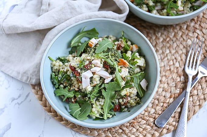 Italiaanse parelcouscous salade