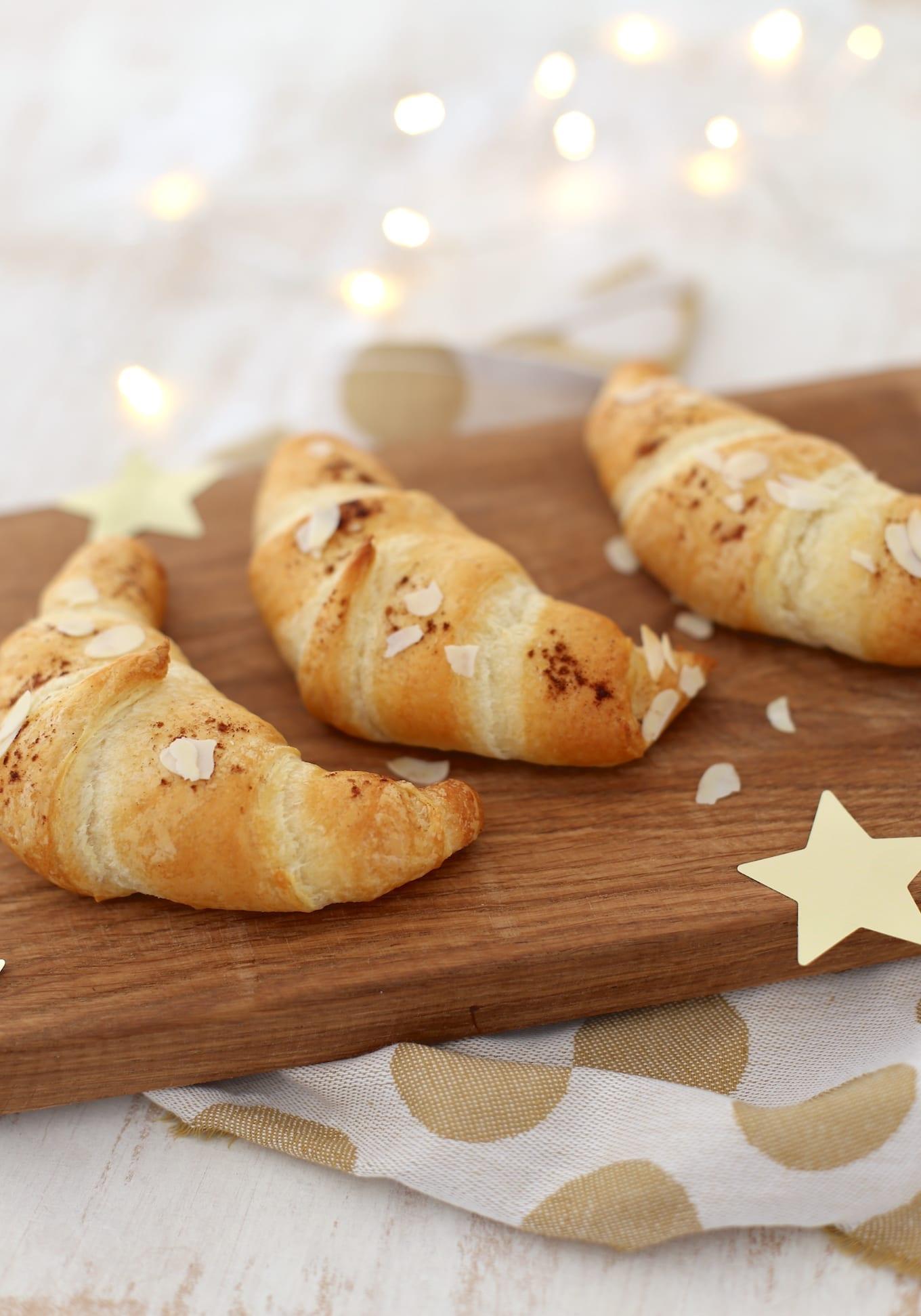 Croissants met spijs