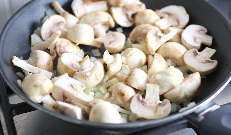 Romige champignons