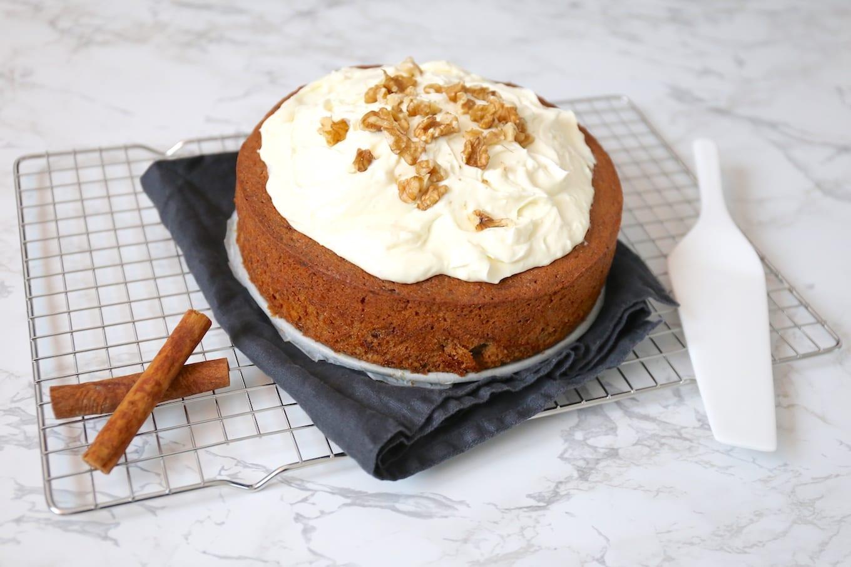 Bakken vanaf de basis: carrot cake