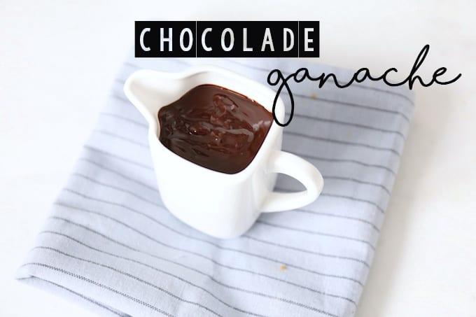 Basisrecept: chocolade ganache