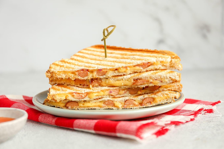 tosti knakworst