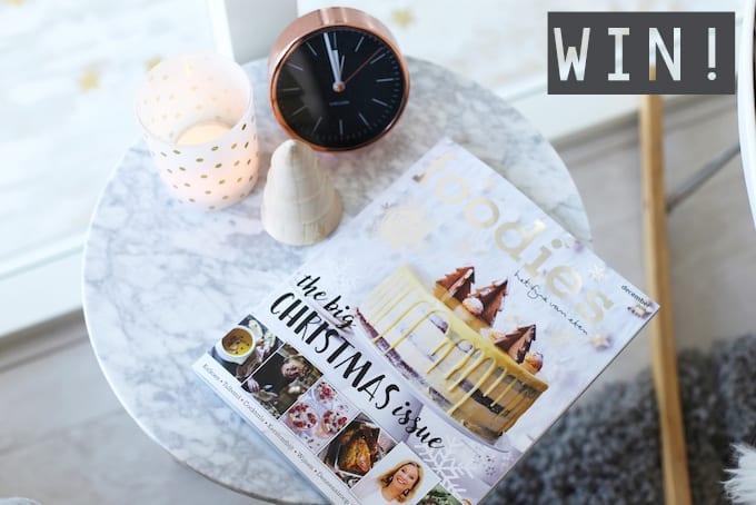 WIN: 3x een jaarabonnement op Foodies Magazine