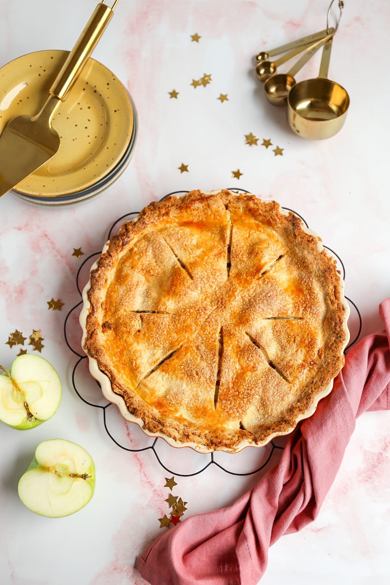 Amerikaanse appeltaart