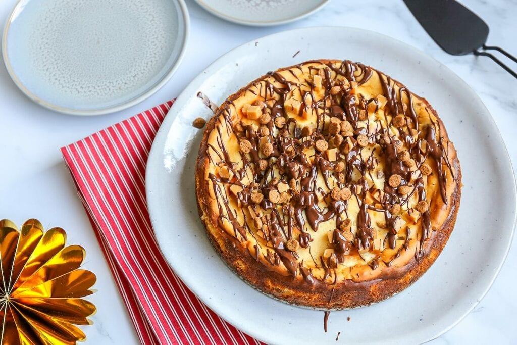 Sinterklaas cheesecake