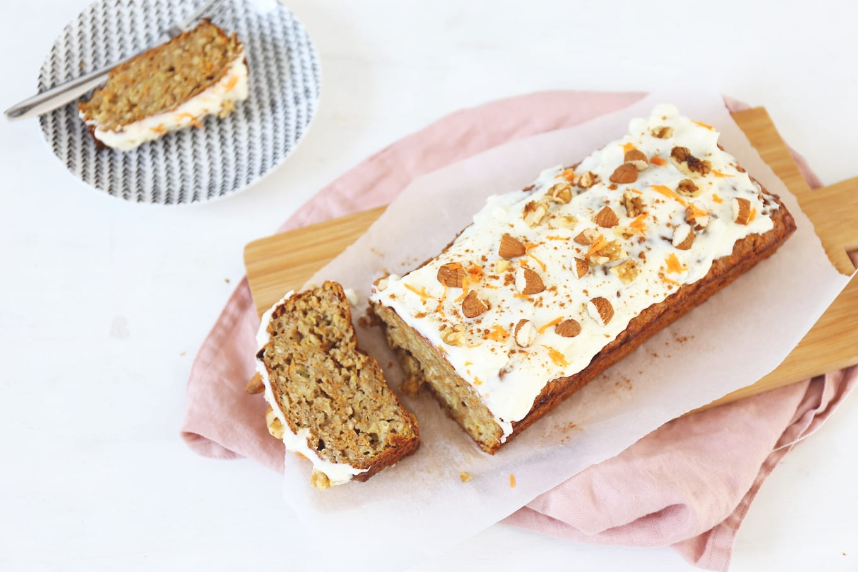 Carrot cake bananenbrood