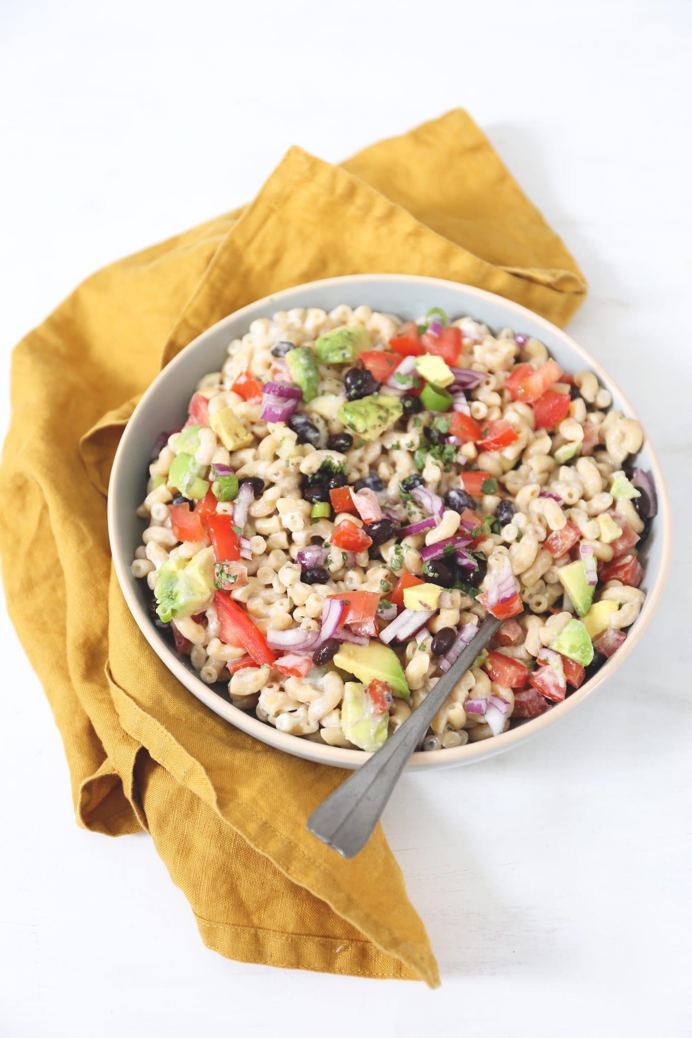 Mexicaanse macaroni salade