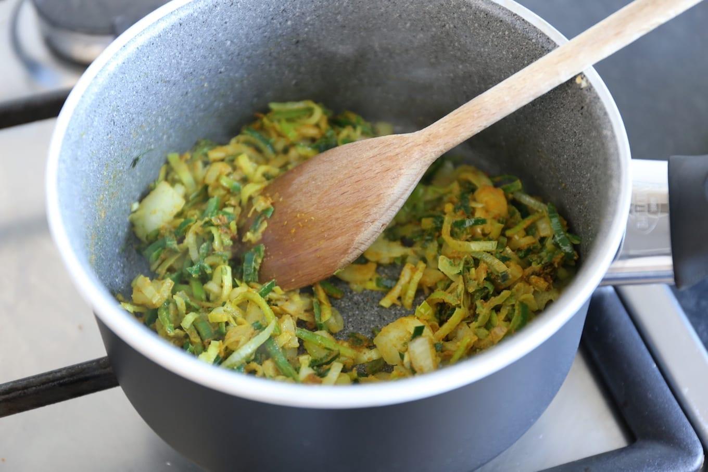 Kerriesoep met rijst