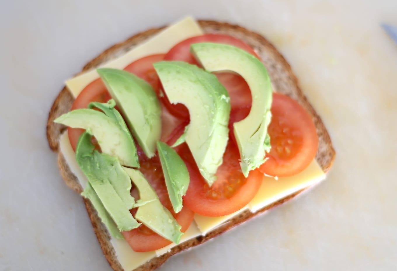 Sandwich Met Kaas En Avocado Lekker En Simpel