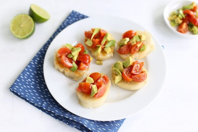 Bruschetta Met Avocado Lekker En Simpel