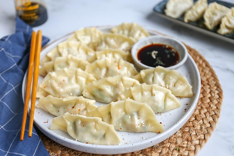 Dumplings met kip