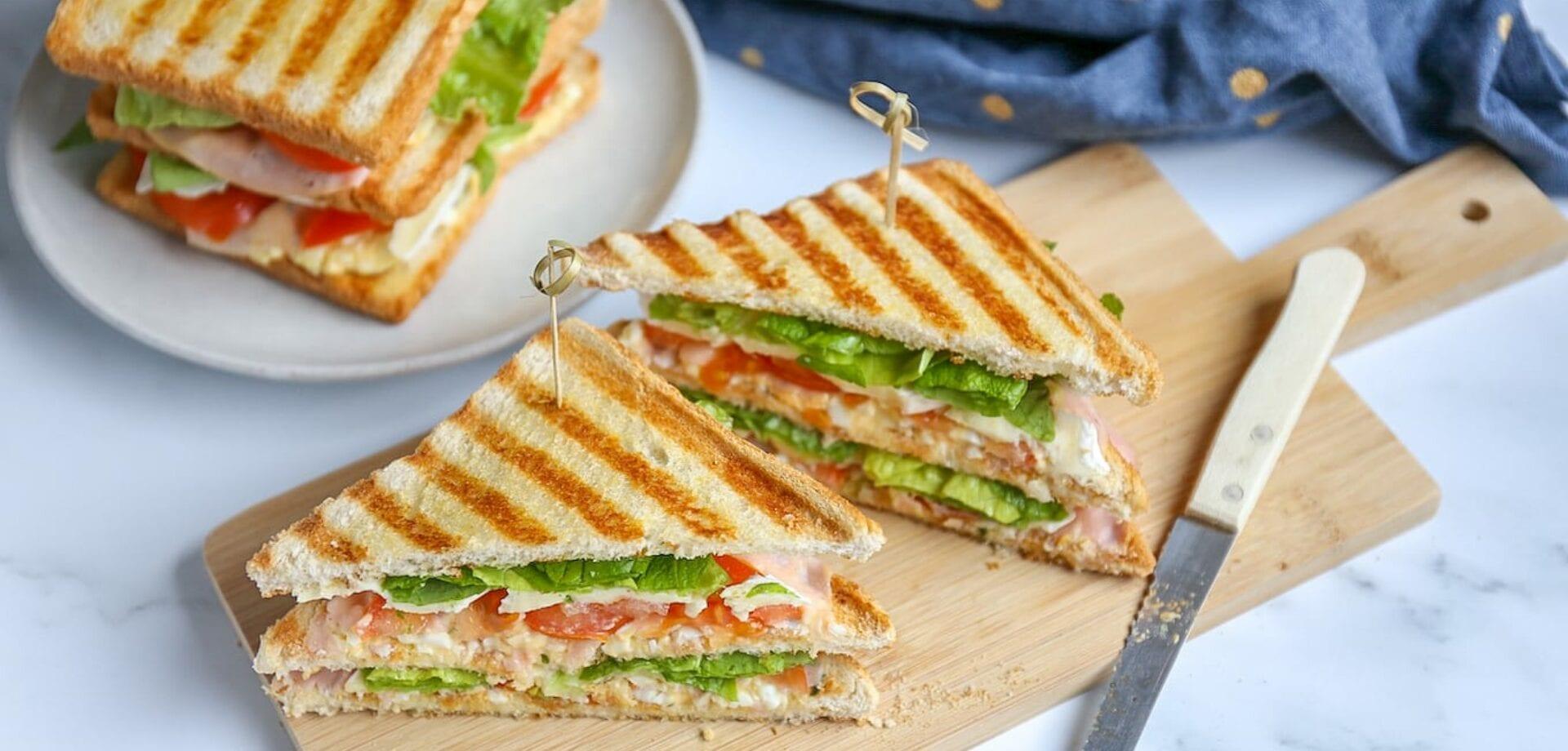 clubsandwich met brie