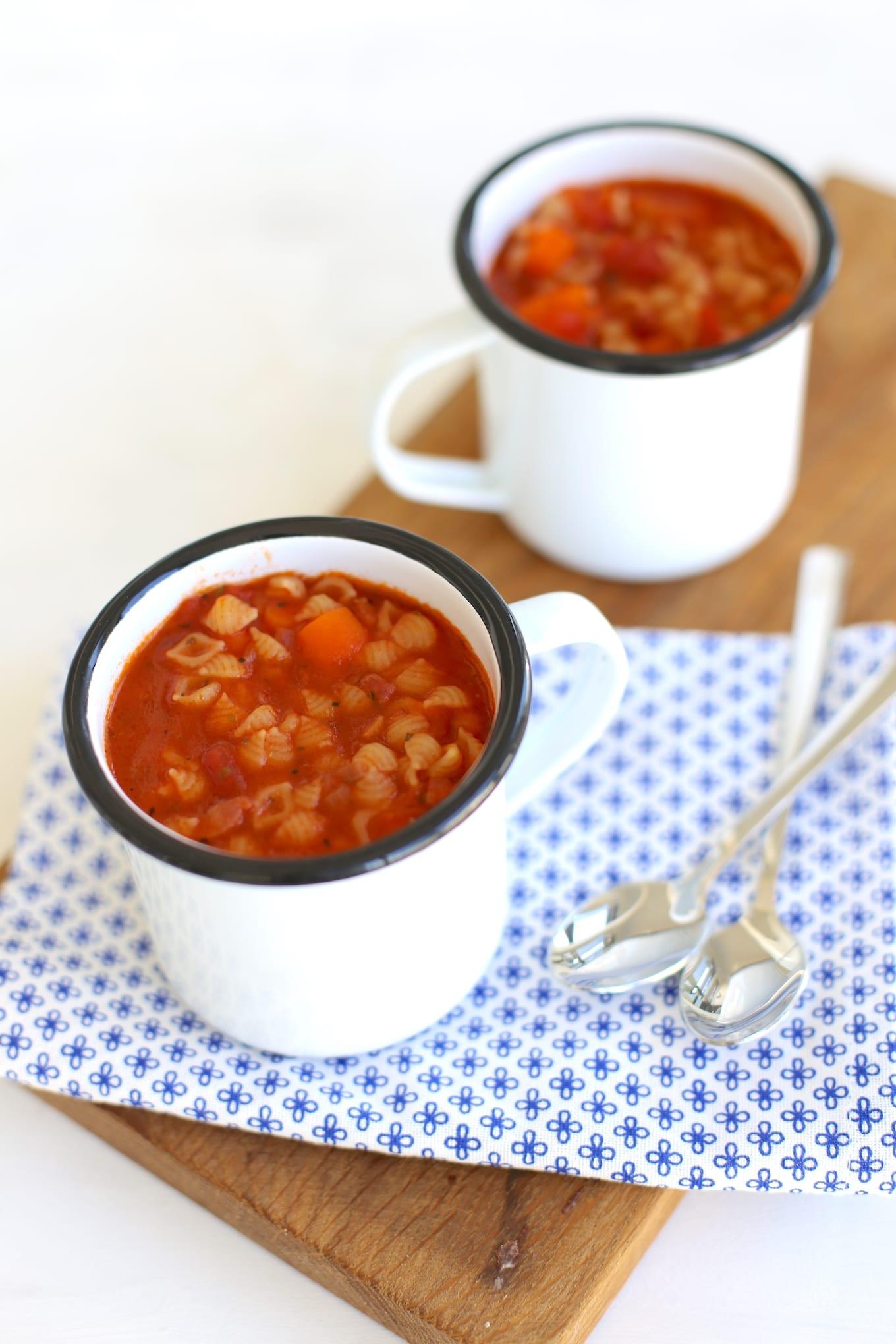 Minestrone soep