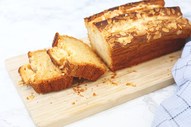 Croissantbrood met amandel