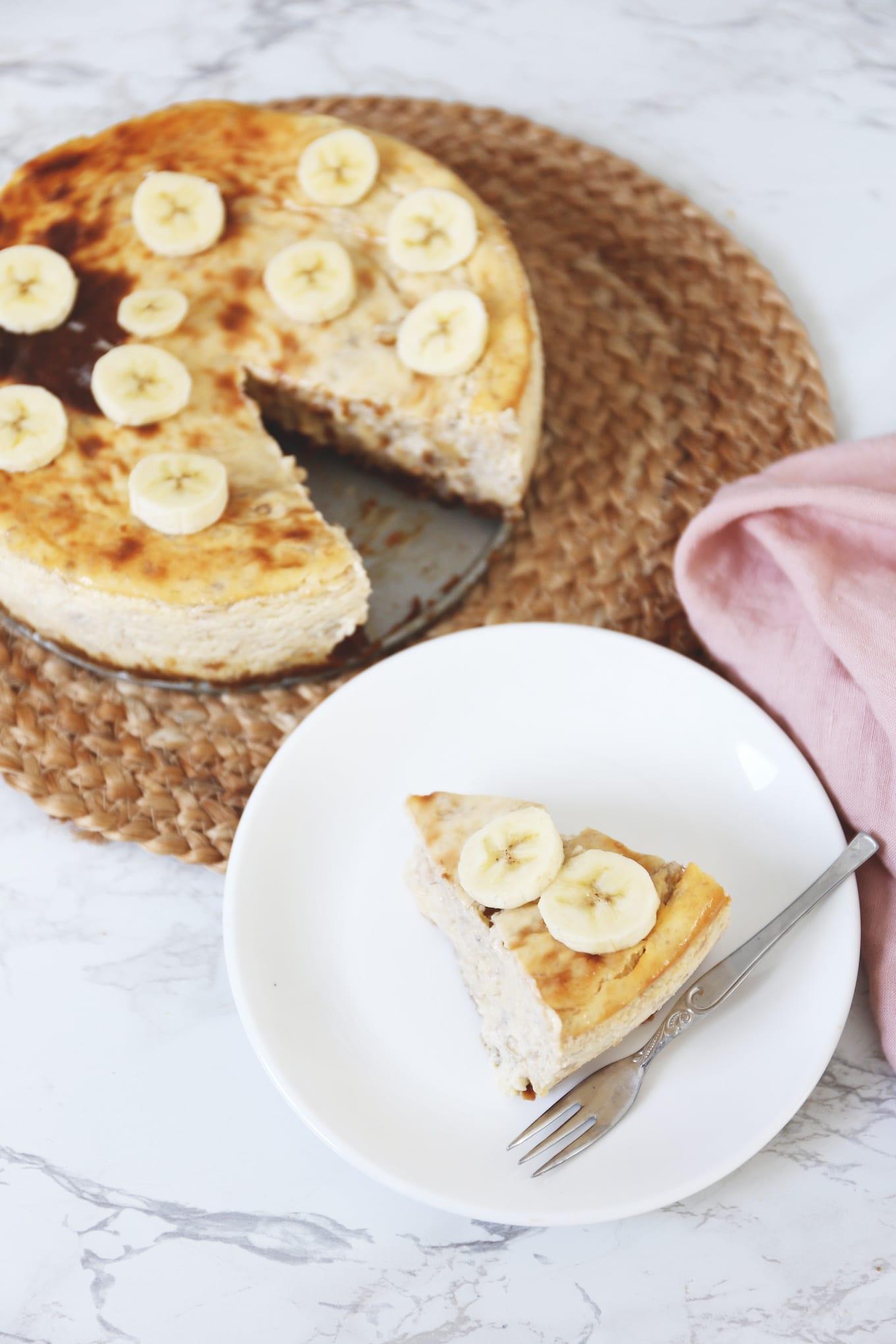 Bananenpudding cheesecake