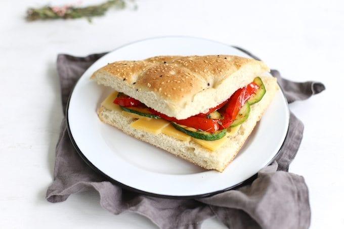 Turks brood met groenten