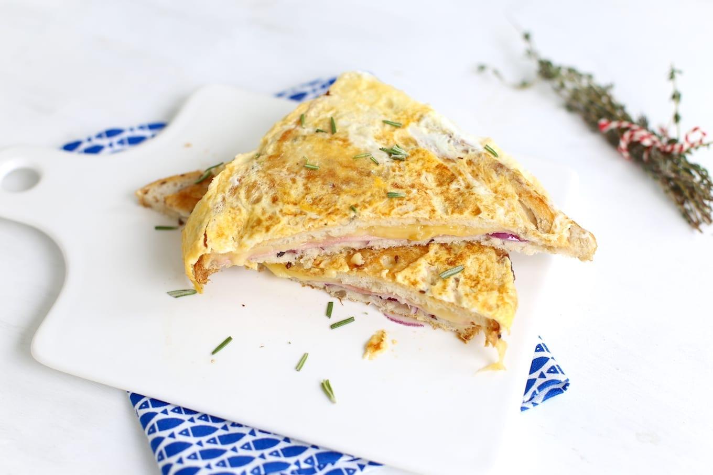 Tosti omelet