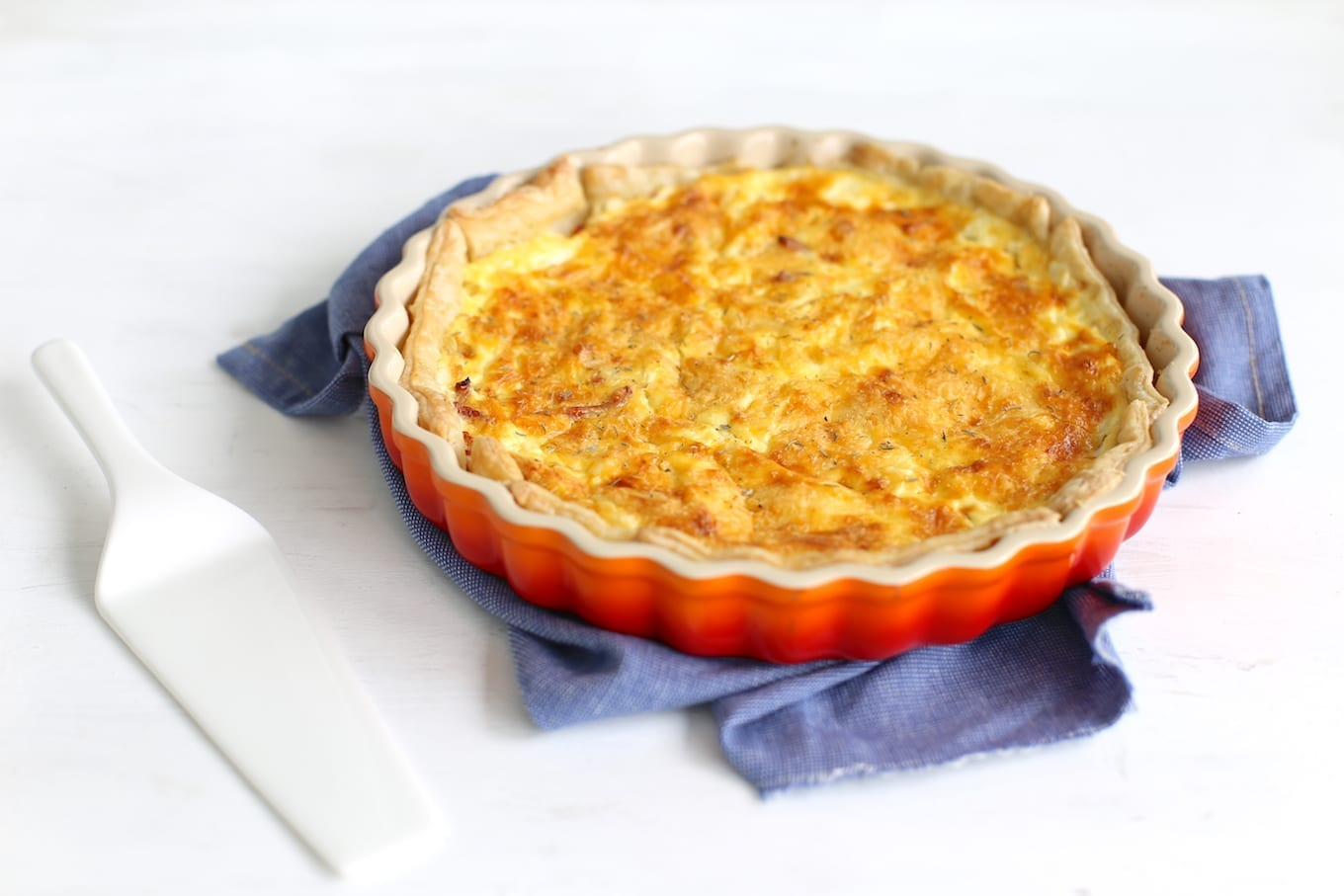 Quiche lorraine (+video)