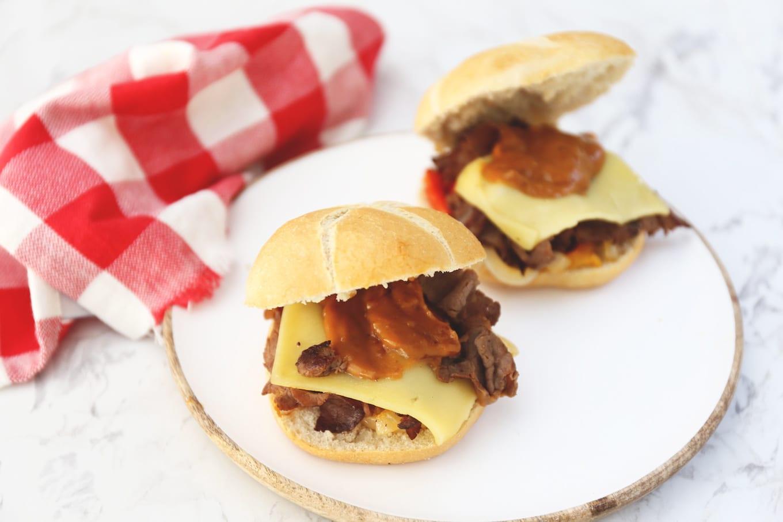 Broodje warm vlees