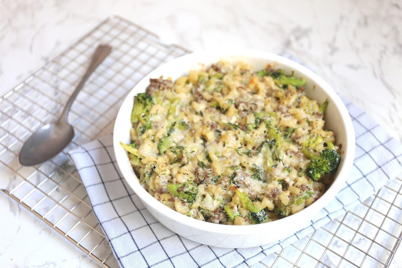 macaroni ovenschotel met gehakt