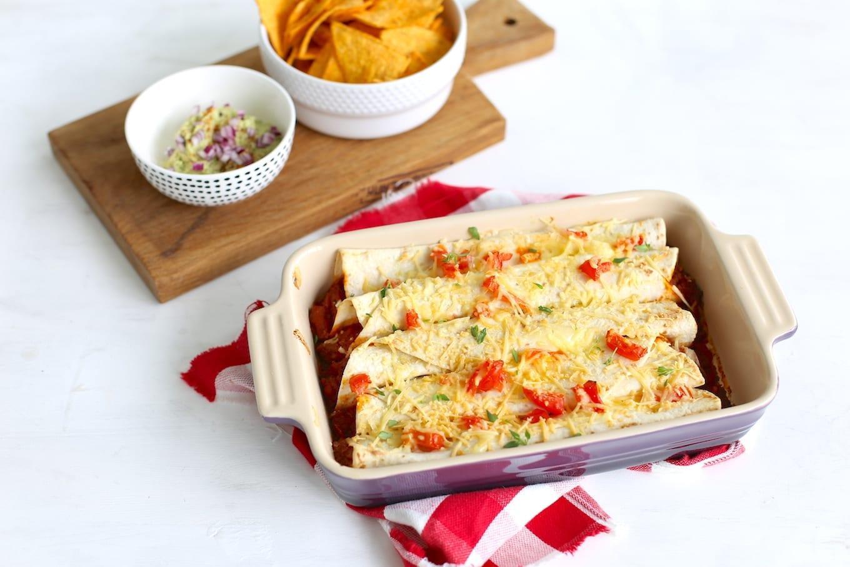 Enchiladas met gehakt
