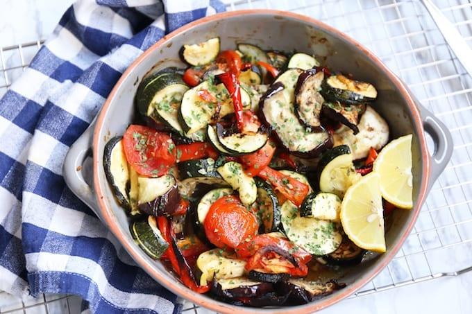 Briam, Griekse groenteschotel