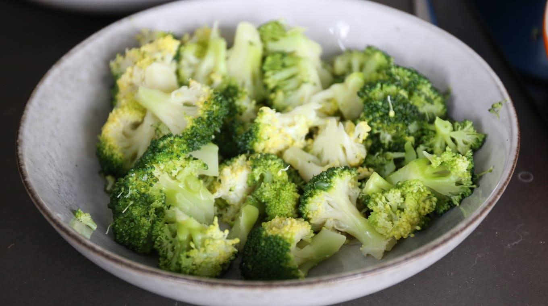aardappellasagne met ham en broccoli