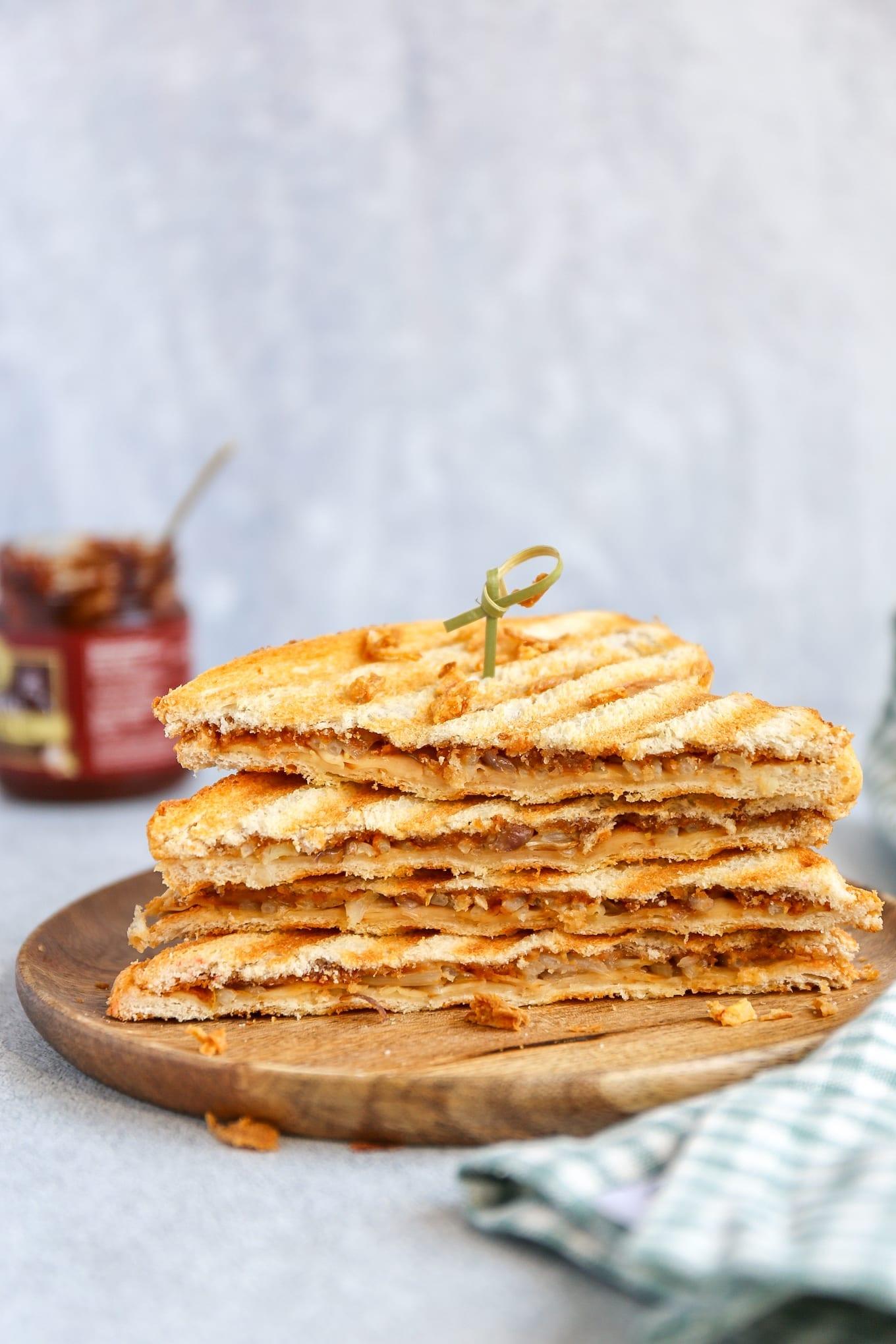 Aziatische tosti