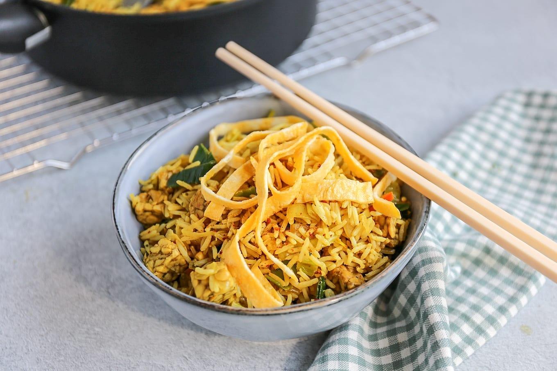 Nasi met tempeh
