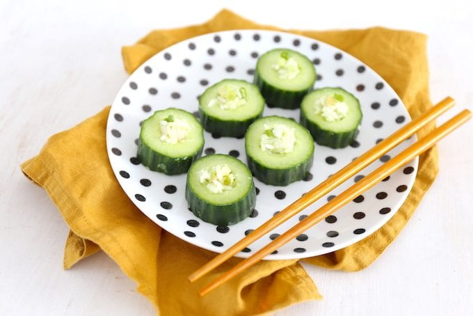 Komkommer sushi