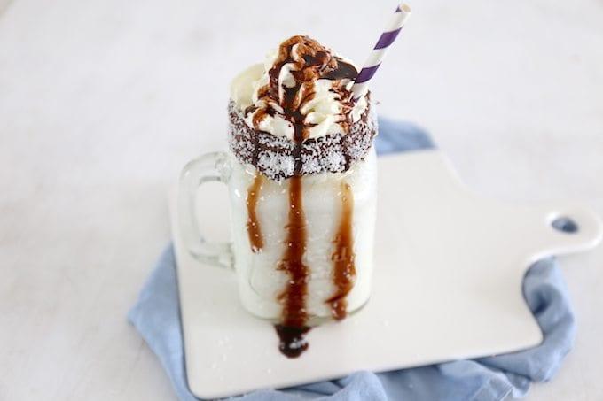 Kokos milkshake