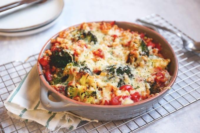 Macaroni ovenschotel met broccoli
