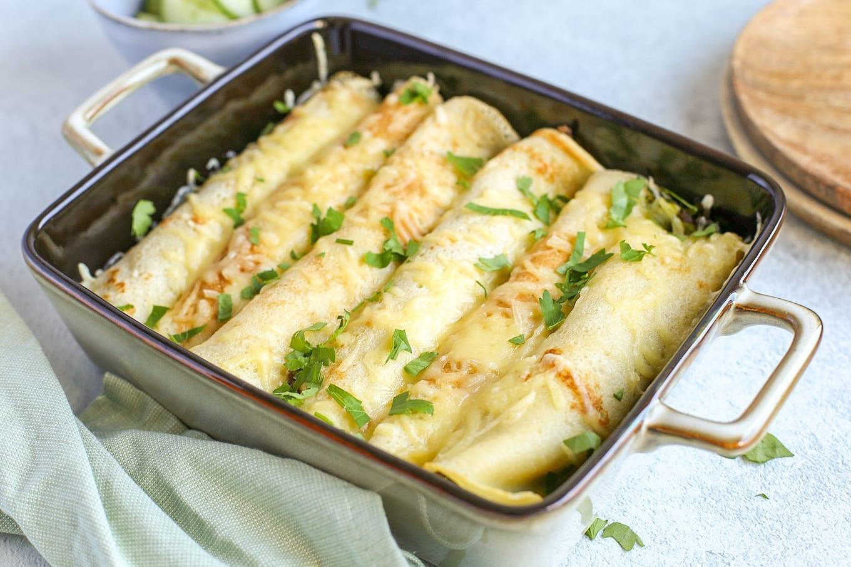 Hartige pannenkoek met gehakt