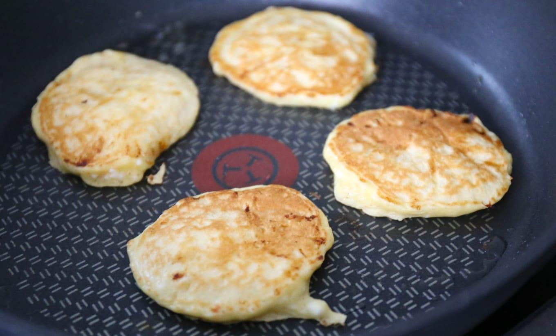 Cottage cheese pannenkoekjes
