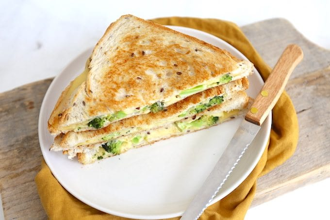 Broccoli tosti