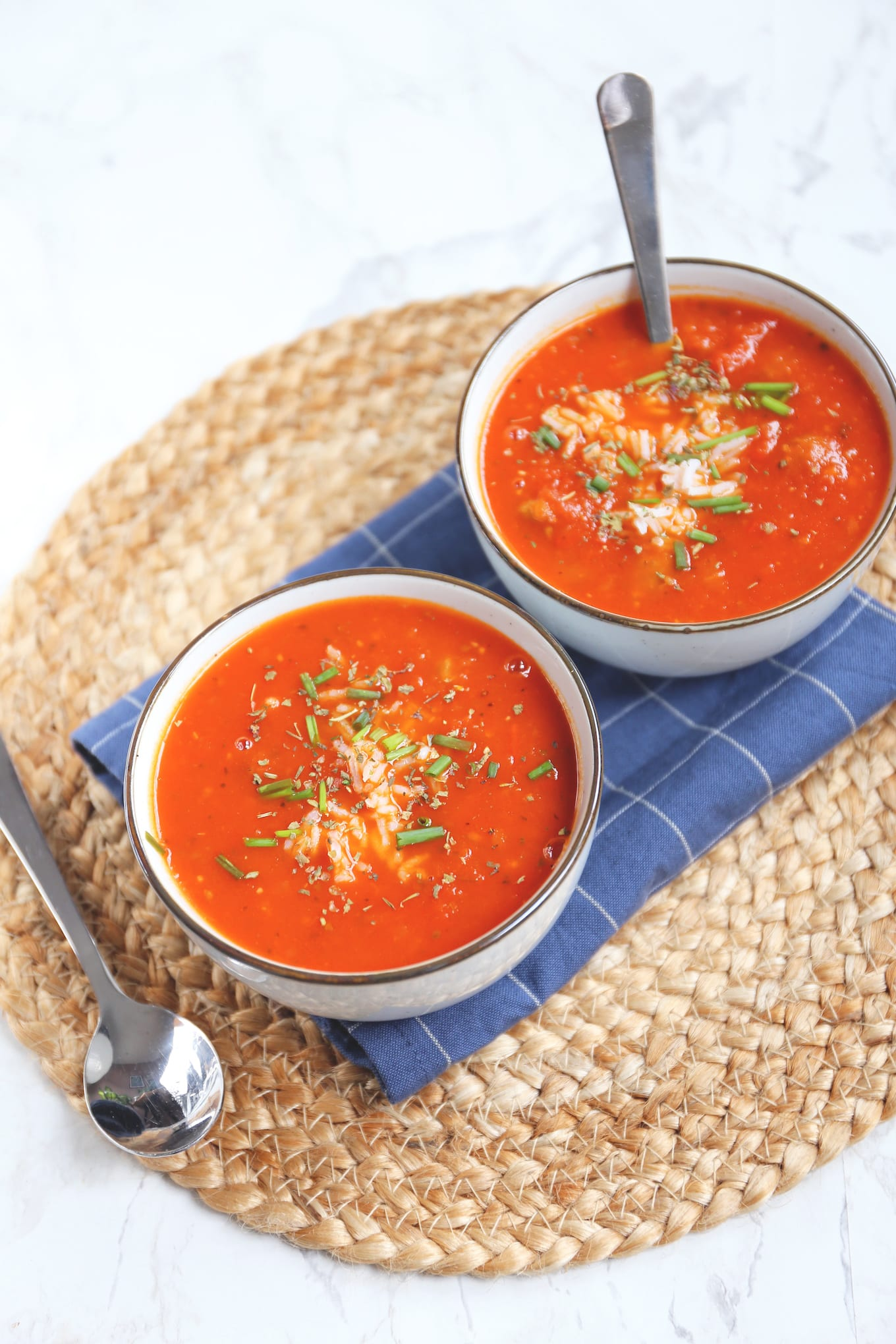 Tomato soup with rice &quot;width =&quot; 1360 &quot;height =&quot; 2040 &quot;/&gt; <br /> <img class=