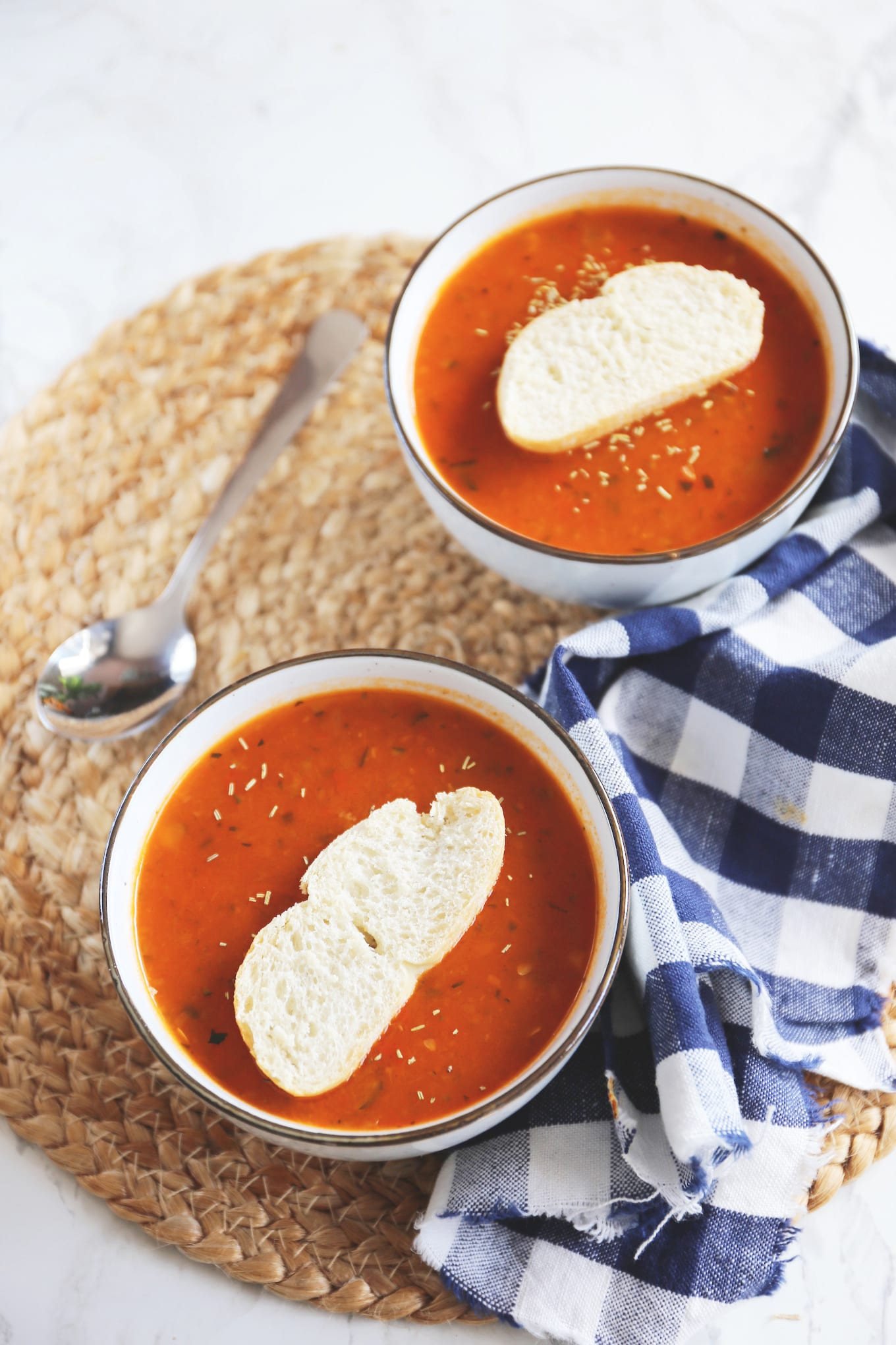 Ratatouille soep