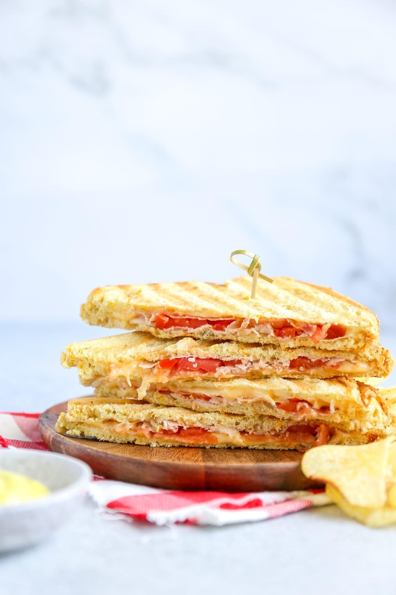 Club sandwich tosti