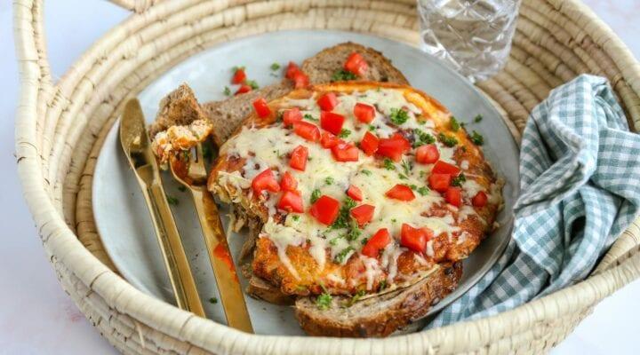 rosti omelet